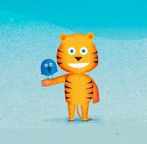 Samsung Kids Hub. Ilustraciones & Animaciones.. Un proyecto de Animación e Ilustración de Santiago Liébana - Jueves, 06 de marzo de 2014 00:00:00 +0100