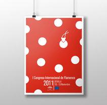 I Congreso Internacional de Flamenco. Um projeto de Design gráfico de Ana Recuero Sanz         - 06.04.2015