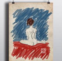 Mujeres de mi vida. Un proyecto de Ilustración de Manu Soler         - 06.04.2015