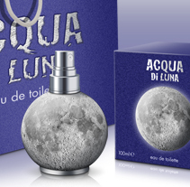 Acqua di Luna. A Advertising, Photograph, Br, ing, Identit, Graphic Design, Packaging, and Product Design project by Lluís Vicién Marca-Noguer - 08-04-2015