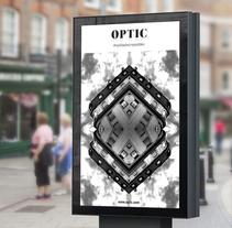 OPTIC · Realidades Imposibles. Um projeto de Design, Direção de arte, Br e ing e Identidade de Anna Carbonell Sariola - 12-04-2015