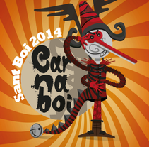 Carnaboi 2014. A Illustration, and Graphic Design project by esteban hidalgo garnica         - 11.03.2014