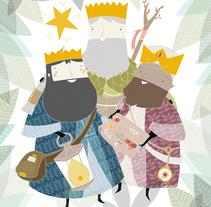 Carta Reyes Magos 2014. Un proyecto de Diseño e Ilustración de eva carot         - 31.10.2014