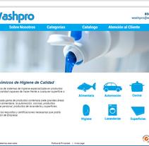 Diseño web Washpro. Un proyecto de Diseño, Diseño Web y Desarrollo Web de Victor Alvarez Rodriguez         - 27.04.2015
