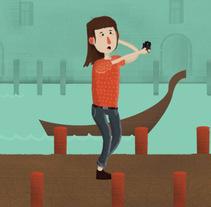 Mi Proyecto del curso Construye un amigo: del lápiz al movimiento. Um projeto de Animação de Adri Tellez         - 28.04.2015