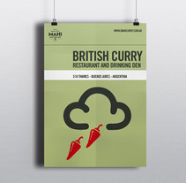 British Curry House. Un proyecto de Br e ing e Identidad de James Eccleston - 02-05-2015