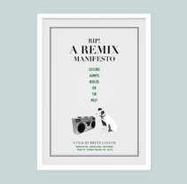 Rip! A Remix Manifesto. A Graphic Design project by Cristina Font         - 06.05.2015