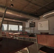 Class 3D. A Design, 3D, Architecture, Interior Design, Lighting Design, and Post-Production project by María Valle         - 09.05.2015