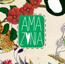 "Packaging ""Amazonia"". A Illustration, Br, ing, Identit, Editorial Design, Graphic Design, and Packaging project by iori         - 11.05.2012"