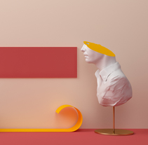 MADRIZ - Dirección de Arte con Cinema 4D. A 3D, Art Direction, and Graphic Design project by TAVO  - 06.01.2015