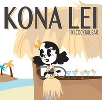 Kona Lei. A Illustration, and Graphic Design project by Isabel M. Gutiérrez         - 13.05.2015