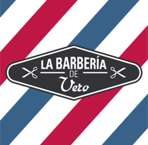 La Barbería de Vero. A Br, ing, Identit, and Graphic Design project by Isa San Martín         - 16.05.2015