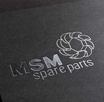 MSM spare parts. A Br, ing, Identit, Design, and Graphic Design project by Think Diseño - Mar 22 2015 12:00 AM