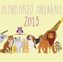 Mi calendario del curso Ilustrando el tiempo. Um projeto de Design, Ilustração e Design gráfico de lauravazquez - 23-11-2014