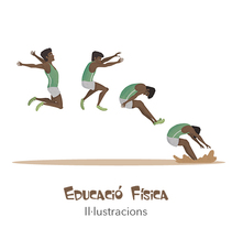 EDUCACIÓN FÍSICA. Un proyecto de Ilustración y Animación de Xiduca          - 26.05.2015