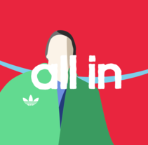 Adidas - All in. A Illustration, Motion Graphics, and Animation project by Borja Alegre  - 26-05-2015