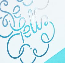 Se Feliz, tarjeta calada. A Graphic Design project by Gimena Moya Tonelli         - 27.05.2015