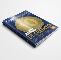 Revista Credit Performance. Um projeto de Design editorial e Design gráfico de Leandro Hoffmann         - 29.05.2015