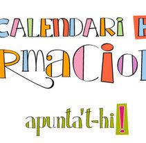Calendari de Formacions. Um projeto de Design, Ilustração, Tipografia e Caligrafia de Ivan Sala Valero         - 31.05.2015