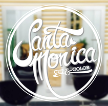 Brand - Santa Monica Cut & Color. A Br, ing&Identit project by Daniel Fernández Herrera - Nov 01 2014 12:00 AM
