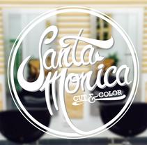 Brand - Santa Monica Cut & Color. A Br, ing&Identit project by Daniel Fernández Herrera - Nov 01 2014 12:00 AM