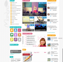 Comunidad para profesores marianistasmambre.org. Um projeto de Desenvolvimento Web de Alan Cesarini         - 01.06.2015