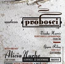 Probosci. A Music, Audio, Art Direction, Graphic Design, and Collage project by Cristo Aleister™  - Dec 22 2013 12:00 AM