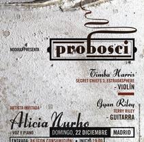 Probosci. Un proyecto de Collage, Dirección de arte, Diseño gráfico, Música y Audio de Cristo Aleister™  - Domingo, 22 de diciembre de 2013 00:00:00 +0100