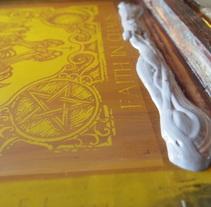 ESTAMPADO EN PLASTISOL (Etacarinae Crust Punk). A Screen-printing project by GRAFFITIS - SERIGRAFIA         - 03.06.2015