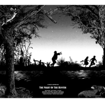 The Night Of The Hunter. A Illustration, Screen-printing, and Film project by Roger Crespo Garriga         - 08.06.2015