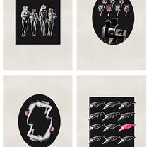 Provocación -  Serie Collage sobre Helmut Newton . A Design, Illustration, Editorial Design, Fine Art, and Collage project by Paula Cubilles Portalés         - 17.06.2015