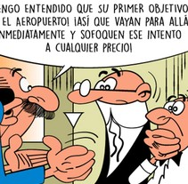 Vectorización – Mortadelo y filemón. A Graphic Design, and Comic project by Mariano Fernández - 18-06-2015
