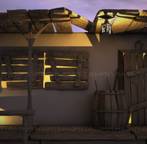 Western. A Design, 3D, and Architecture project by Miguel Sanchez - 19-06-2015