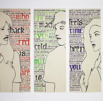 3Musicians. Um projeto de Ilustração, Pintura e Caligrafia de Juliana Muir - 02-01-2015