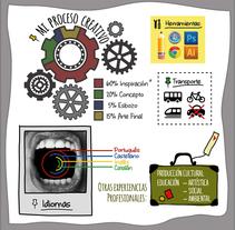 Mi Currículum Creativo. Um projeto de Ilustração e Design gráfico de Paula Harumi Honda         - 31.08.2015