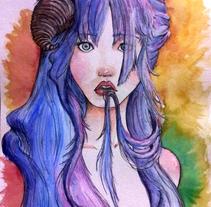 Strange (1/2). Un proyecto de Ilustración y Bellas Artes de Beatriz Galiot - 09-02-2015