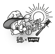 Little Bao X Levis. A Design, Illustration, Art Direction, Br, ing, Identit, Character Design, Graphic Design, Screen-printing, T, and pograph project by Bnomio ™ - May 23 2015 12:00 AM