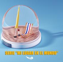 """Serie """"mi lugar en el mundo"""". A 3D project by Santiago Vitali         - 04.03.2015"""