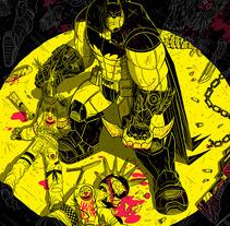 Batman75. Un proyecto de Ilustración, Comic y Diseño de personajes de Chiko  KF - Lunes, 15 de diciembre de 2014 00:00:00 +0100
