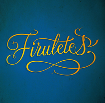 Firuletes. A Illustration, Graphic Design, and Calligraph project by Alberto Álvarez - 07-07-2015