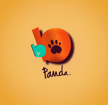 BB PANDA logo. A Illustration, Br, ing, Identit, and Graphic Design project by Lalo Garcia         - 07.07.2015