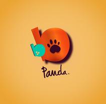 BB PANDA logo. Un proyecto de Ilustración, Br, ing e Identidad y Diseño gráfico de Lalo Garcia         - 07.07.2015