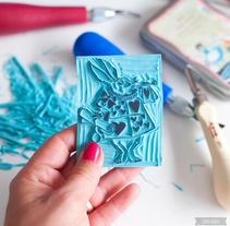 Mis sellos. Um projeto de Artesanato de Sami Garra         - 23.07.2015