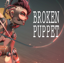 Broken Puppet (Videogame). A Illustration, 3D, Character Design, and Multimedia project by Carlos Garijo         - 23.07.2015
