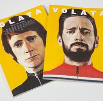 Volata #4. A Editorial Design, Graphic Design&Illustration project by Enric Adell - Jul 27 2015 12:00 AM
