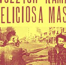 VOZZYOW+RAMA+DELICIOSA MASA POSTER. A Illustration, Graphic Design, and Collage project by Leo Sousa         - 28.02.2015