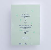 Six Festival. Um projeto de Design, Direção de arte, Br e ing e Identidade de dobarrobello         - 28.03.2016