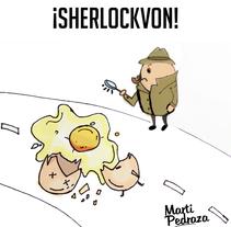 Mi Proyecto del curso Humor gráfico para principiantes. Un proyecto de Comic de Marta Cristina Pedraza         - 03.08.2015