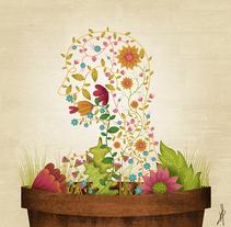 Grow your own soul. Un proyecto de Diseño, Ilustración y Dirección de arte de David van der Veen - 02-08-2015