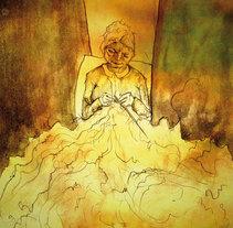 Al final del hilo me encontrarás. A Illustration project by Marta Herguedas         - 30.09.2012